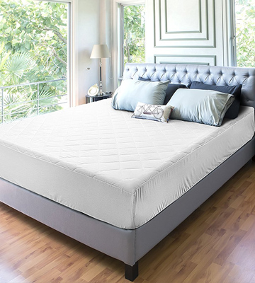 Review of Utopia Bedding UB0044 Quilted Fitted Mattress Pad