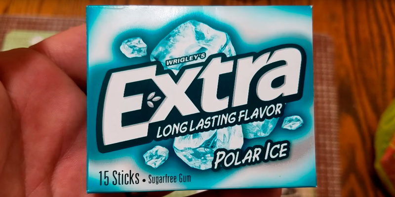 Review of Extra Gum Polar Ice Sugarfree Gum