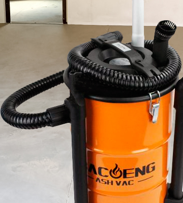 Review of BACOENG BA-ASH200L Ash Vacuum