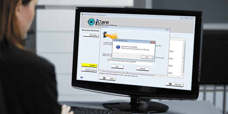 iCare Recovery Data Recovery Pro Home License in the use