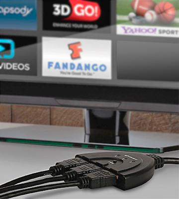 Review of Fosmon HD1831 3-Port 4k HDMI Switch