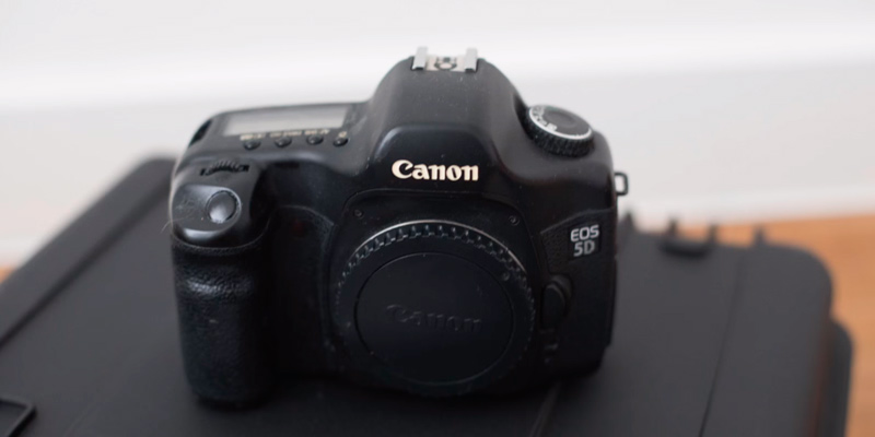Canon EOS 5D Mark IV Full Frame Digital SLR Camera (Body Only) in the use