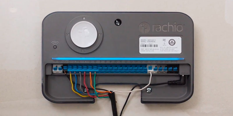 Detailed review of Rachio 8ZULW-C Smart Sprinkler Controller