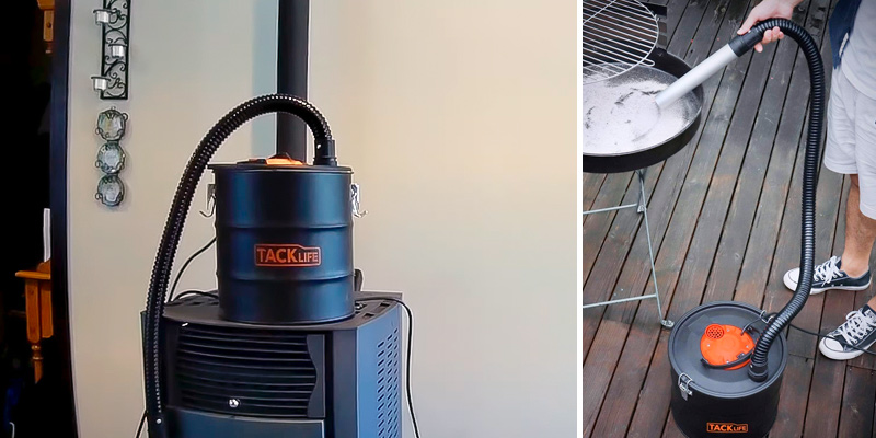 Review of TACKLIFE 800W Ash Vacuum Cleaner