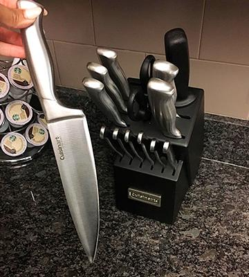 Review of Cuisinart 15-Piece Stainless Steel Knife Set