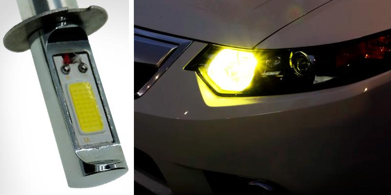 Review of Calais H3 Bright Golden Color LED Fog Light