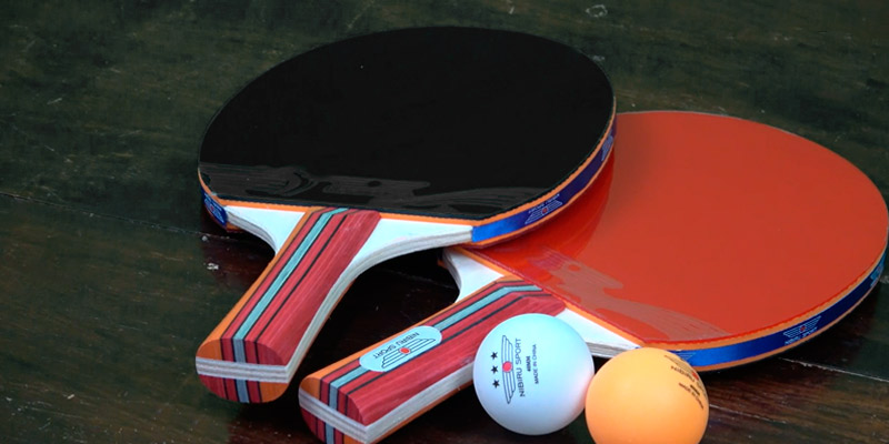Review of NIBIRU SPORT Set (4-Player Bundle) Ping Pong Paddle