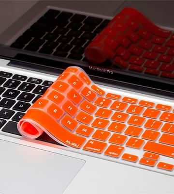 Review of Kuzy Colored Keyboard Cover Silicone Skin for MacBook