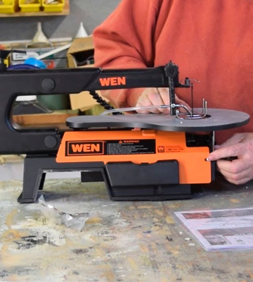Review of WEN 3921 Two-Direction Variable Speed Scroll Saw