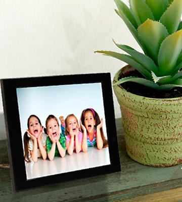 pix star wi fi cloud digital photo frame