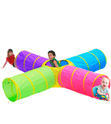 Hide N Side 4-way Kids Play Tunnel