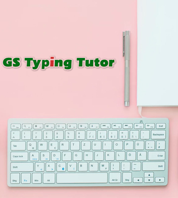Review of GS Typing Tutor Touch Typing Lessons