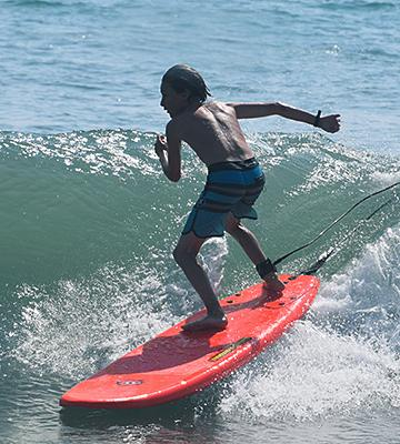 Review of Liquid Shredder FSE EPS/PE Soft Surf Board