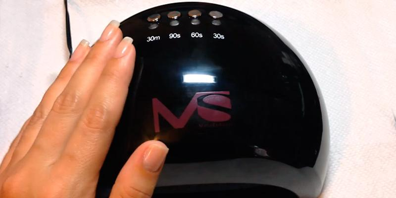 Detailed review of MelodySusie Violetili LED Nail Dryer