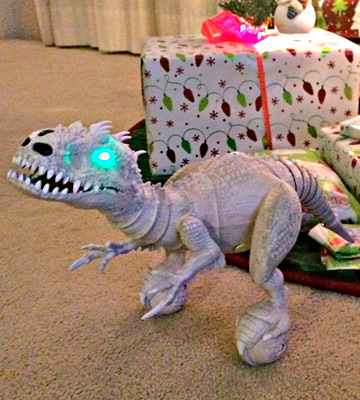 Review of Zoomer Jurassic world Robotic INDOMINUS REX