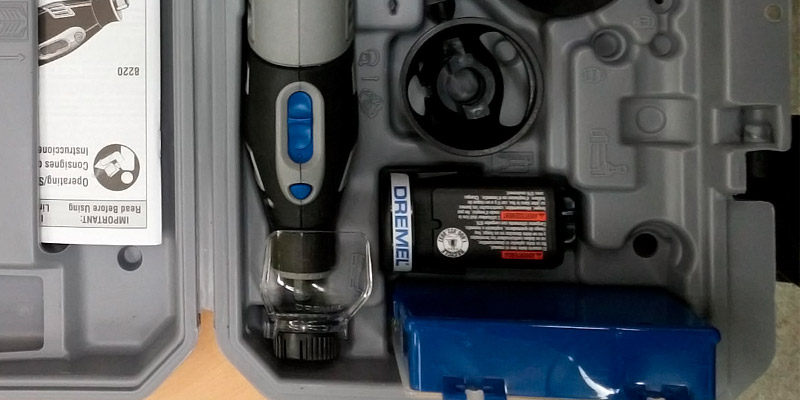 Dremel 8220-1/28 Cordless Rotary Tool application