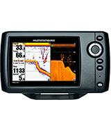 Humminbird 409620-1 Fish Finder with Down-Imaging and GPS