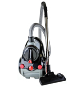 Ovente ST2010 Bagless Canister Cyclonic Vacuum with HEPA Filter