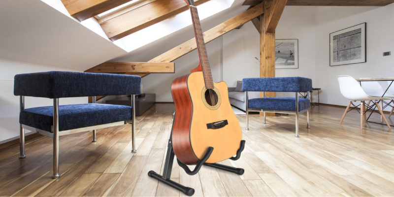Review of NEUMA Guitar Stand Folding Universal A frame Stand