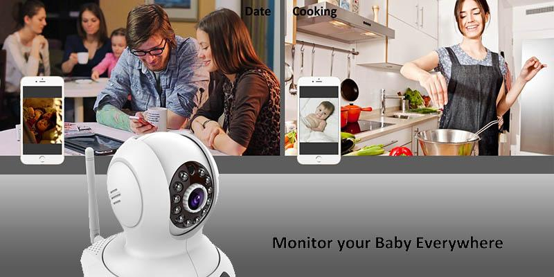 Review of LeFun 3110005W Baby Monitor WiFi IP Camera Surveillance
