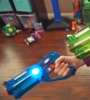 Review of DYNASTY TOYS Family Laser Tag Set