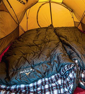 Review of TETON Sports 1058R-P Sleeping Bag