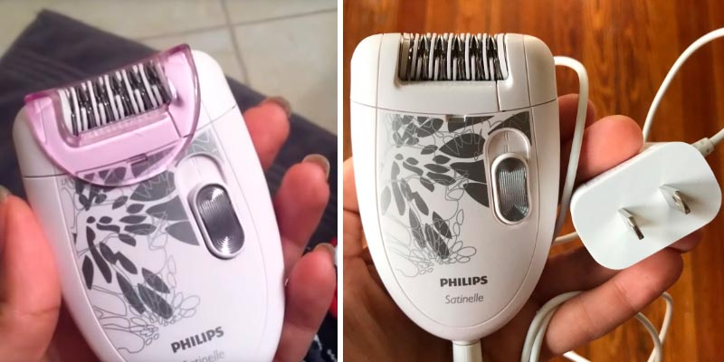 Detailed review of Philips HP6401 Satinelle Epilator