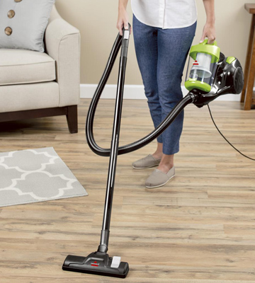 Review of Bissell 2156A Zing Canister Bagless Vacuum