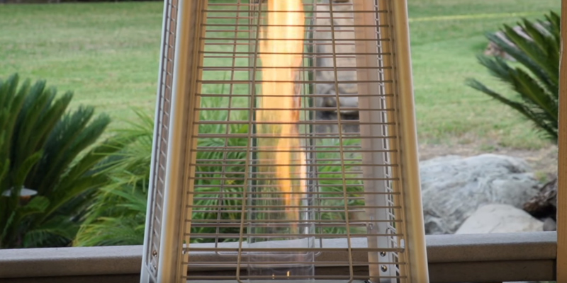 Detailed review of AZ Patio Heaters HLDS01 Patio Heater, Quartz Glass Tube