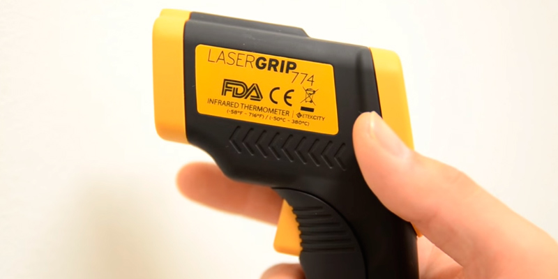 Review of Etekcity Lasergrip 774 Non-contact Digital Infrared Thermometer