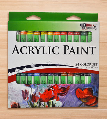 Review of US Art Supply Deluxe Artist Painting Set