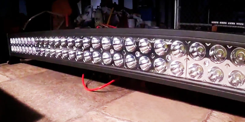 "Northpole Light 50"" LED Light Bar in the use"