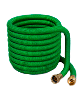 Flexi Hose 3/4 Solid Brass Fittings Expandable Garden Hose