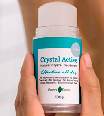 Review of Positive Essence Unscented, 5.6 ounces Crystal Deodorant Stone