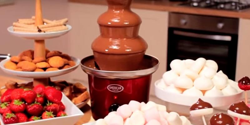 Review of Ovente CFS43BR Chocolate Fountain