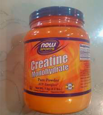 Review of NOW Sports 2.2 Pound Creatine Monohydrate Powder
