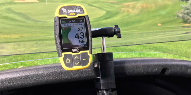 Review of Izzo Golf Swami 5000 Golf GPS Rangefinder