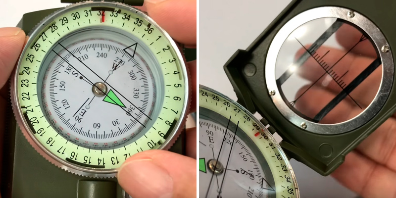 Review of Eyeskey EK1001-M Compass for Hiking