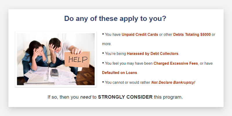 American Debt Enders Debt Consolidation Service in the use