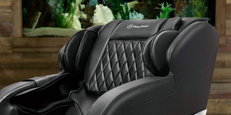 Real Relax Massage Chair Recliner with Rocking Function,Robotic S Track in the use