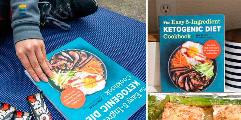 Review of Jen Fisch The Easy 5-Ingredient Ketogenic Diet Cookbook: Low-Carb, High-Fat Recipes for Busy People