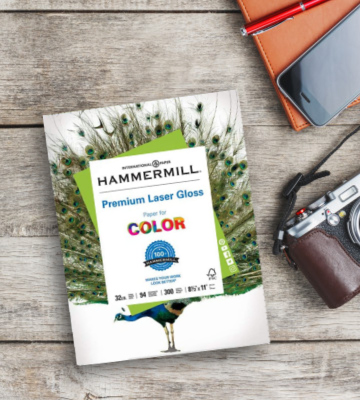 Review of Hammermill 300-Pack Premium Laser Gloss Copy Paper for Photo Printing