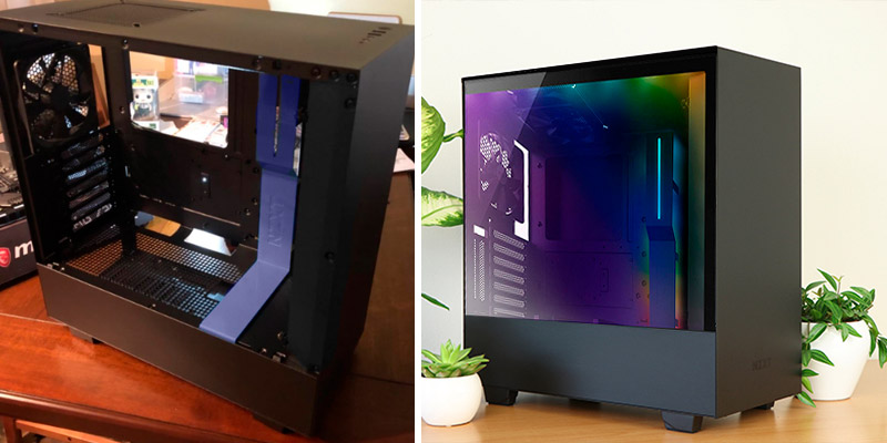 Review of NZXT H500i (CA-H500W-B1) Compact ATX Mid-Tower PC Gaming Case Tempered Glass Panel