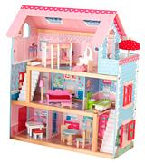 KidKraft 65054 Doll Cottage with Furniture