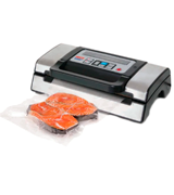 Nesco VS-12 Deluxe Vacuum Sealer with Bag Starter Kit and Viewing Lid