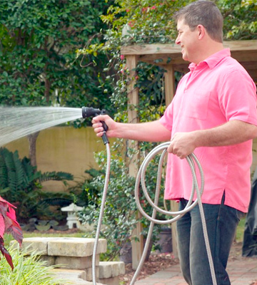 Review of Tiabo 50ft 304 Stainless Steel Metal Garden Hose