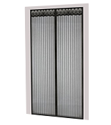 TheFitLife Screen-Black-46x82 Magnetic Screen Door