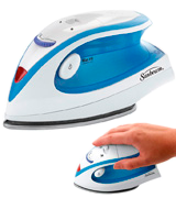 Sunbeam GCSBTR-100-000 Hot-2-Trot 800 Watt Compact Non-Stick Soleplate Travel Iron