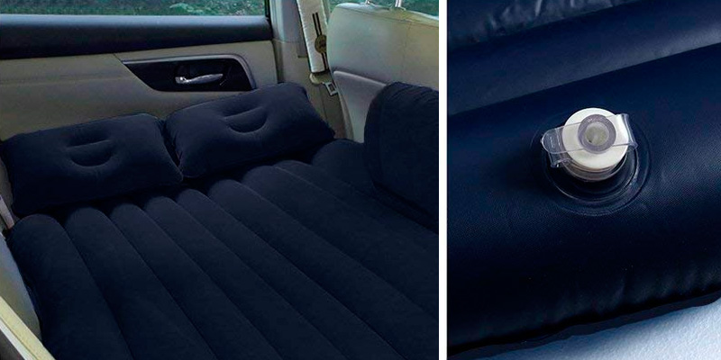 Review of HAITRAL AB-1 Car Bed Back Seat Inflatable Air Mattress