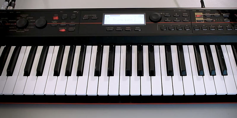 Review of Korg KROSS Keyboard Production Station